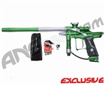 Dangerous Power Fusion FX Paintball Gun - Green/White