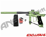 Dangerous Power Fusion FX Paintball Gun - Neon Green/Pewter