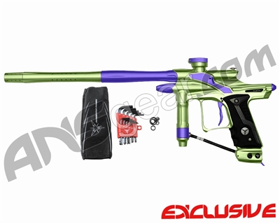 Dangerous Power Fusion FX Paintball Gun - Neon Green/Purple