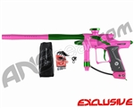 Dangerous Power Fusion FX Paintball Gun - Pink/Green