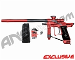 Dangerous Power Fusion FX Paintball Gun - Red/Pewter