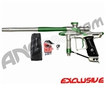 Dangerous Power Fusion FX Paintball Gun - Silver/Green