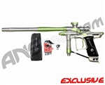 Dangerous Power Fusion FX Paintball Gun - Silver/Neon Green