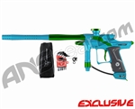 Dangerous Power Fusion FX Paintball Gun - Teal/Green