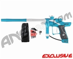 Dangerous Power Fusion FX Paintball Gun - Teal/White