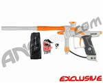 Dangerous Power Fusion FX Paintball Gun - White/Orange