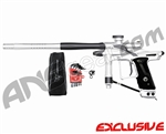 Dangerous Power Fusion FX Paintball Gun - White/Pewter