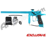 Dangerous Power G4 Paintball Gun - L.E. Teal/Black