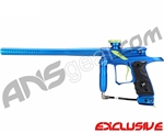 Dangerous Power G4 Paintball Gun Neon Series - Blue/Green