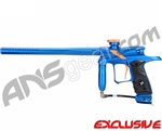 Dangerous Power G4 Paintball Gun Neon Series - Blue/Orange