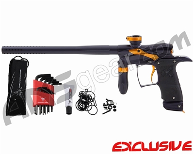 Dangerous Power G5 Paintball Gun - Black/Orange
