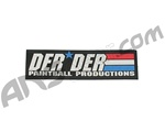 "Der Der Flag Sticker - 6"" x 1 3/4"""
