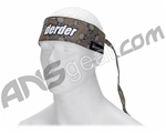 Der Der Brown Flying Skull Authetnic Sandana Headband