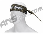 Der Der Green Flying Skull Authentic Sandana Headband