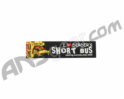 Der Der Short Bus Sticker