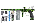 DLX Luxe 2.0 Paintball Gun - 3D Black/Slime Green