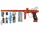 DLX Luxe 2.0 Paintball Gun - 3D Red/Gold