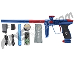 DLX Luxe 2.0 Paintball Gun - Blue/Dust Red