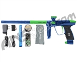 DLX Luxe 2.0 Paintball Gun - Blue/Dust Slime Green