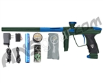 DLX Luxe 2.0 Paintball Gun - British Racing Green/Dust Blue