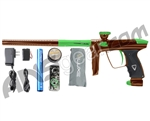 DLX Luxe 2.0 Paintball Gun - Brown/Dust Slime Green