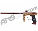 DLX Luxe 2.0 Paintball Gun - Click Click Boom - Brown/Gold Tattoo Laser