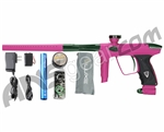 DLX Luxe 2.0 Paintball Gun - Dust Pink/British Racing Green