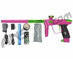 DLX Luxe 2.0 Paintball Gun - Dust Pink/Slime Green