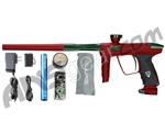 DLX Luxe 2.0 Paintball Gun - Dust Red/British Racing Green