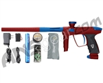 DLX Luxe 2.0 Paintball Gun - Dust Red/Dust Blue