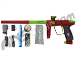 DLX Luxe 2.0 Paintball Gun - Dust Red/Dust Slime Green