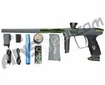 DLX Luxe 2.0 Paintball Gun - Dust Titanium/British Racing Green
