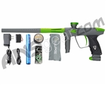 DLX Luxe 2.0 Paintball Gun - Dust Titanium/Dust Slime Green