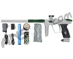 DLX Luxe 2.0 Paintball Gun - Dust White/British Racing Green