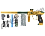 DLX Luxe 2.0 Paintball Gun - Gold/British Racing Green