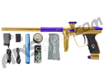 DLX Luxe 2.0 Paintball Gun - Gold/Dust Purple