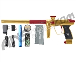 DLX Luxe 2.0 Paintball Gun - Gold/Dust Red