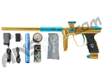 DLX Luxe 2.0 Paintball Gun - Gold/Dust Teal