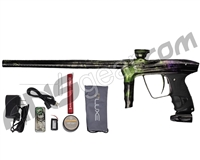 DLX Luxe 2.0 OLED Paintball Gun - Polished Acid Wash Green/Purple Fade