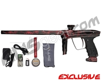 DLX Luxe 2.0 OLED Paintball Gun - Polished Acid Red