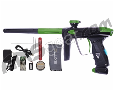 DLX Luxe 2.0 OLED Paintball Gun - Black/Dust Slime Green