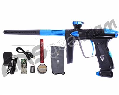 DLX Luxe 2.0 OLED Paintball Gun - Black/Teal