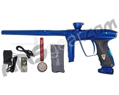 DLX Luxe 2.0 OLED Paintball Gun - Blue/Blue