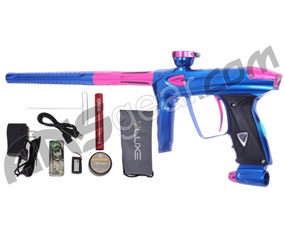 DLX Luxe 2.0 OLED Paintball Gun - Blue/Pink