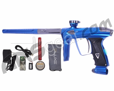 DLX Luxe 2.0 OLED Paintball Gun - Blue/Titanium
