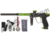 DLX Luxe 2.0 OLED Paintball Gun - Carbon Fiber/Dust Slime Green