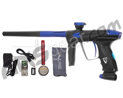 DLX Luxe 2.0 OLED Paintball Gun - Dust Black/Dust Blue