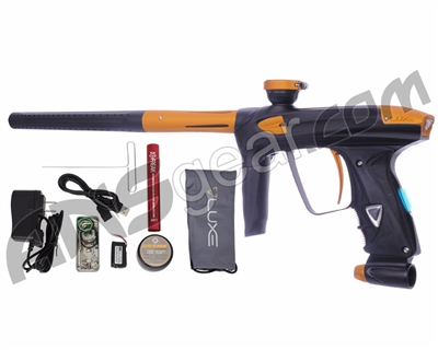 DLX Luxe 2.0 OLED Paintball Gun - Dust Black/Dust Gold