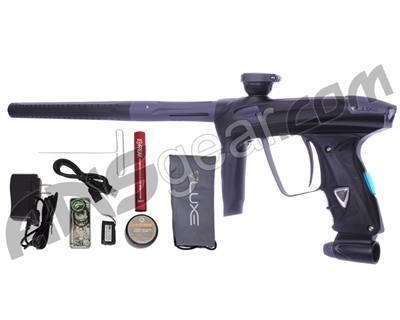 DLX Luxe 2.0 OLED Paintball Gun - Dust Black/Dust Titanium