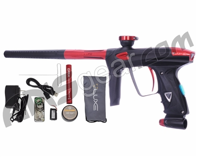 DLX Luxe 2.0 OLED Paintball Gun - Dust Black/Red
